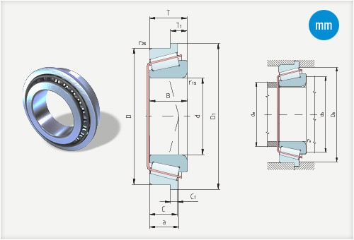 Tapered roller bearings PLC